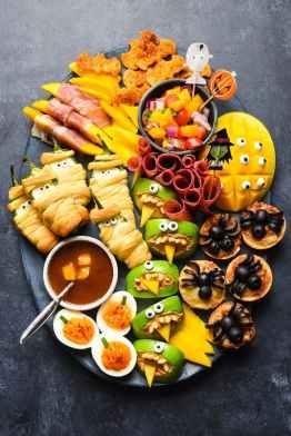 halloween-snack-dinner